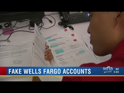 Thousands of Wells Fargo employees caught setting up fake account and credit cards
