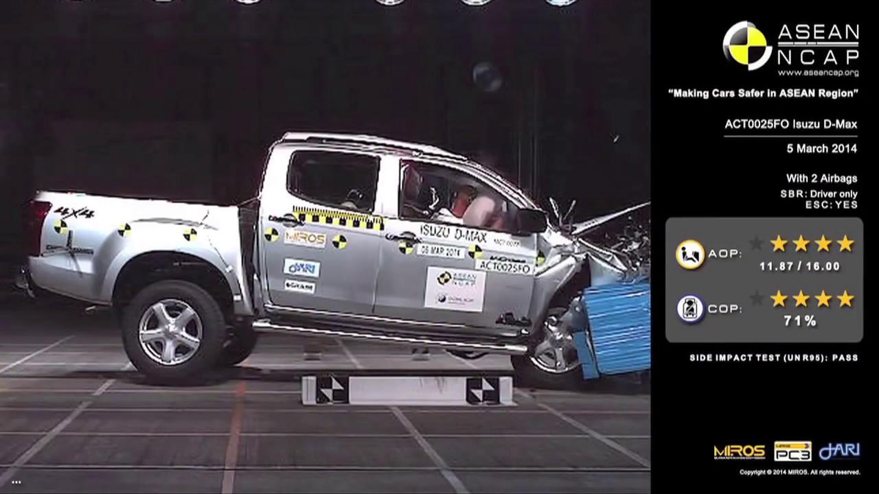 Isuzu D Max Crash Test