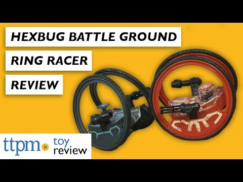 Battle Ground Ring Racer Toy Review From Hexbug