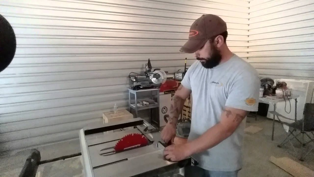 Kobalt kt1015 table saw follow up review youtube keyboard keysfo