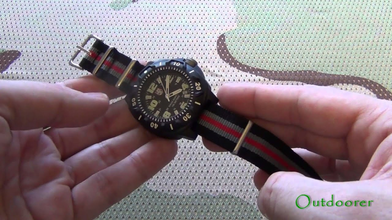 Часы Luminox A.3083 - YouTube