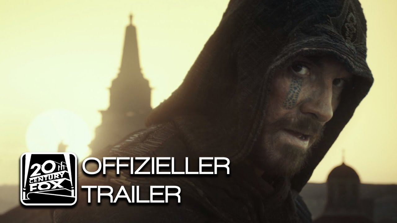 Assassin's Creed | Trailer 1 | Deutsch HD German 2016 (Michael Fassbender)