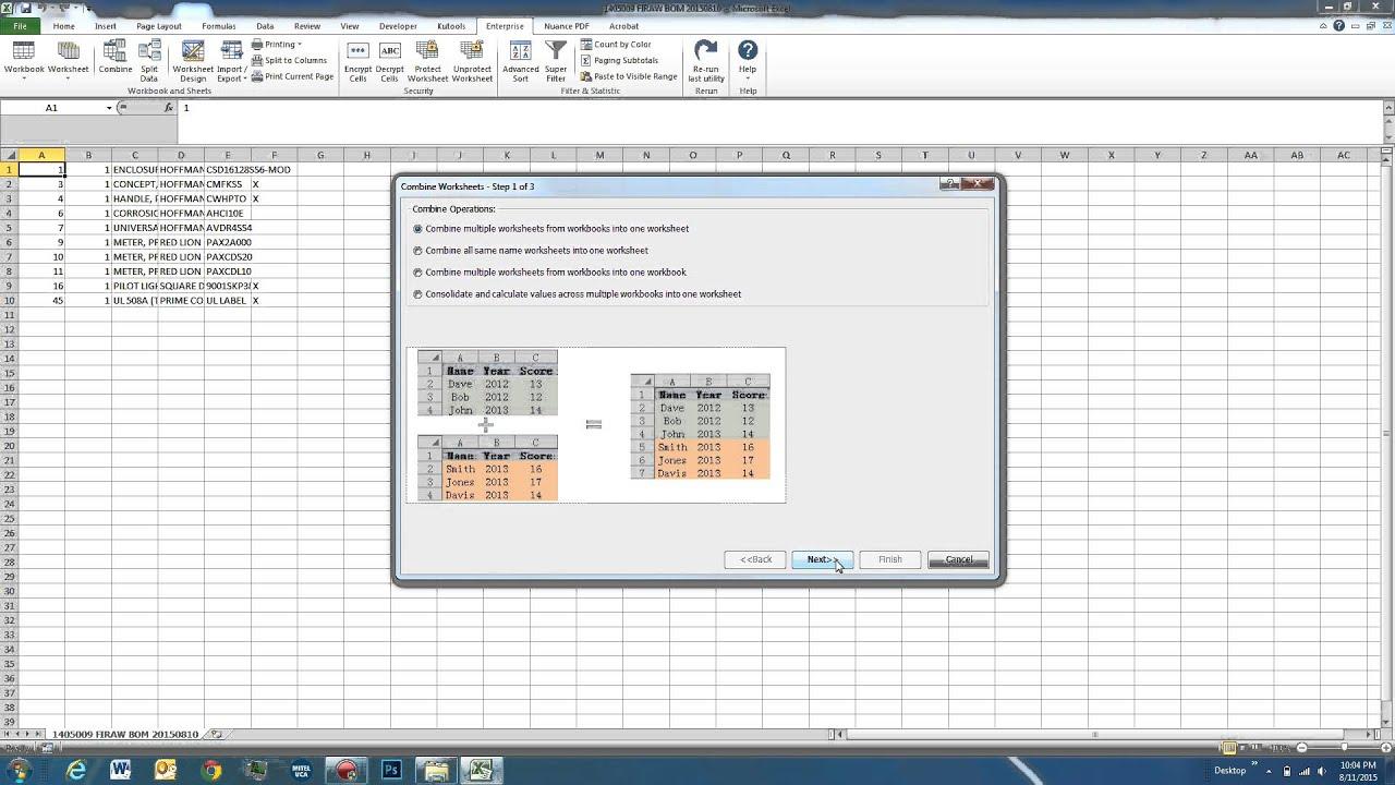 Us G Kutools Excel 1 B E Nd Dv Nced B E Rows