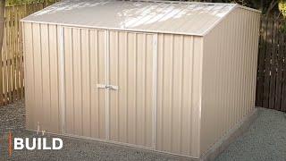 Absco Premier Shed Range Installation