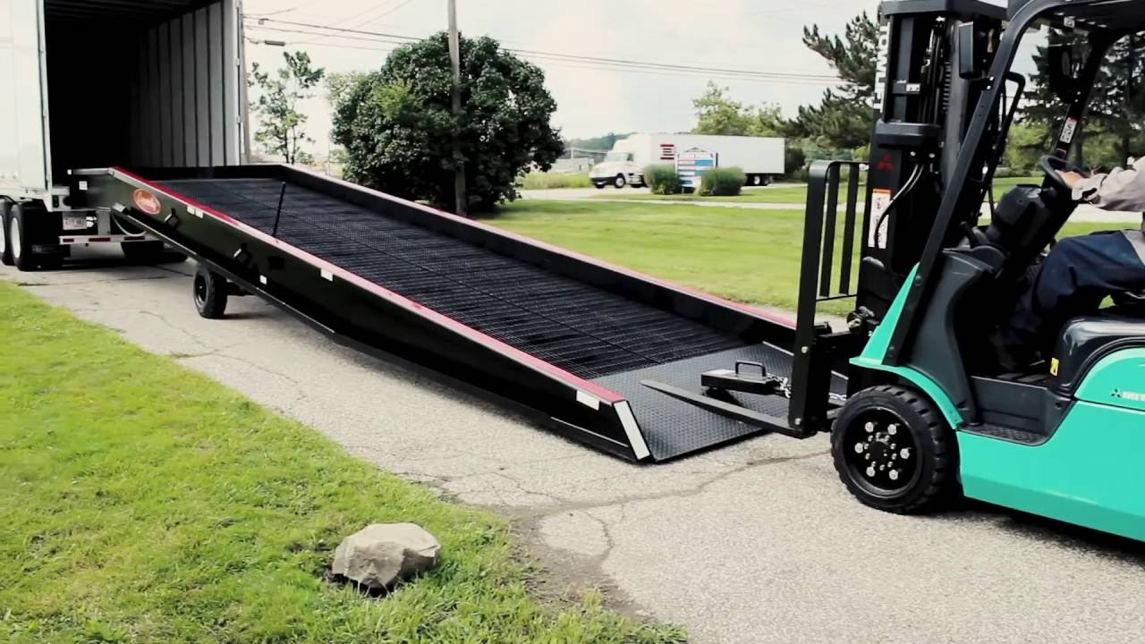 Copperloy Yard Ramps In Durable Steel And Aluminum Youtube