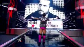 CM PUNK Music Video & Promo with Paul Heyman in HD Song Run this town