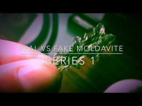 Real Vs Fake Moldavite (Series 1)