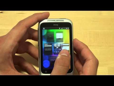 HTC Wildfire S Test Bedienung