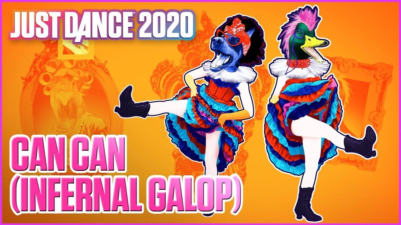 """Can can"" διαφημιστικό για το Just Dance 2020"