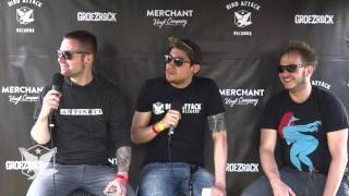 Bird Attack @ Groezrock 2017 - UNDECLINABLE interview