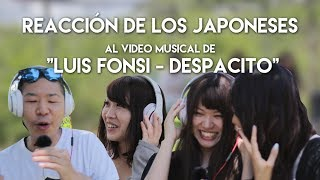 reacción de los japoneses al video musical de luis fonsi despacito japanese react to despacito