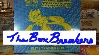 Pokéon LOST THUNDER Unboxing Elite Trainer Box Opening Pokemon Sun and Moon Trading Card Game Packs