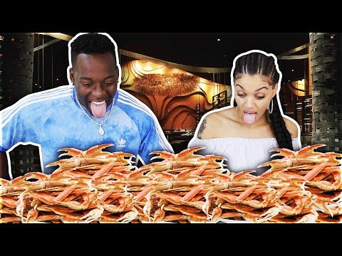 MUKBANG SEAFOOD BOIL 2 🔥SMACKING NOISES/MESSY EATING/8LBS KING CRABS | LOBSTER TAILS & STEAK FOOD!!