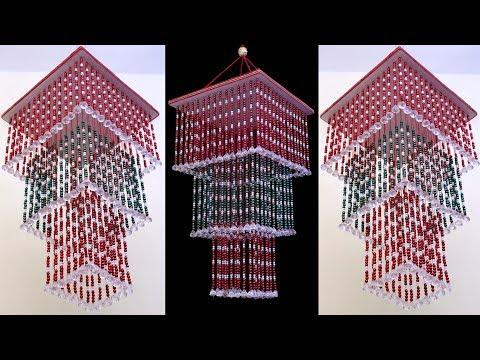 Best Wall Hanging Idea || DIY Pearl Jhumar || DIY Room Decor Crafts