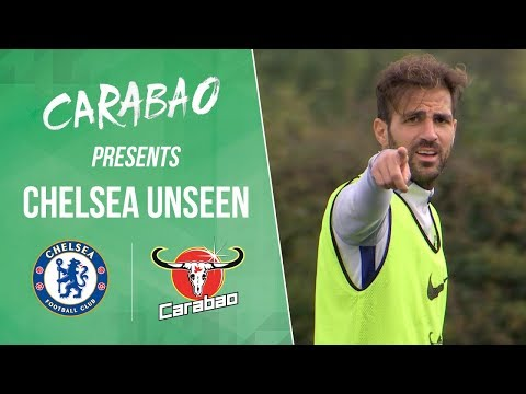 Cesc Fabregas Shows Everyone Why He's The Man Around The Training Ground! | Chelsea Unseen