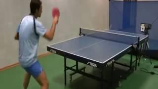 Тренажер для настольного тенниса Фора-Снайпер. часть 3