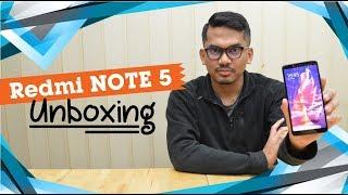 Unboxing! Xiaomi Redmi Note 5