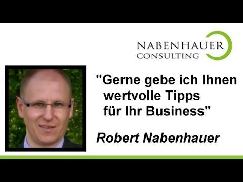 Nabenhauer Consulting HIER abonnieren - Danke! - Tipps für Ihr Business mit PreSales Marketing