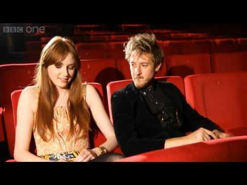 Doctor Who: Dinosaurs on a Spaceship - Karen Gillan & Arthur Darvill interview - Series 7 2012 - BBC