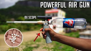 How To Make Powęrful Air Gun at Home [NEW MODEL]