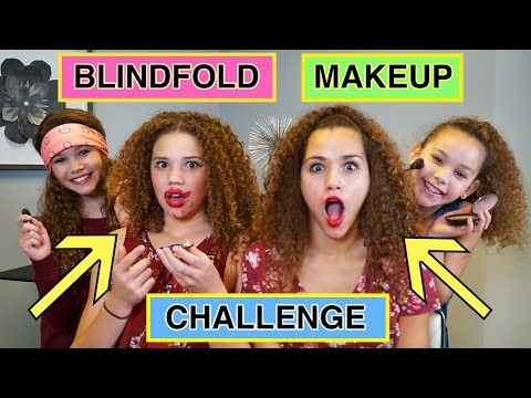 Thumbnail: BLINDFOLDED MAKEUP CHALLENGE