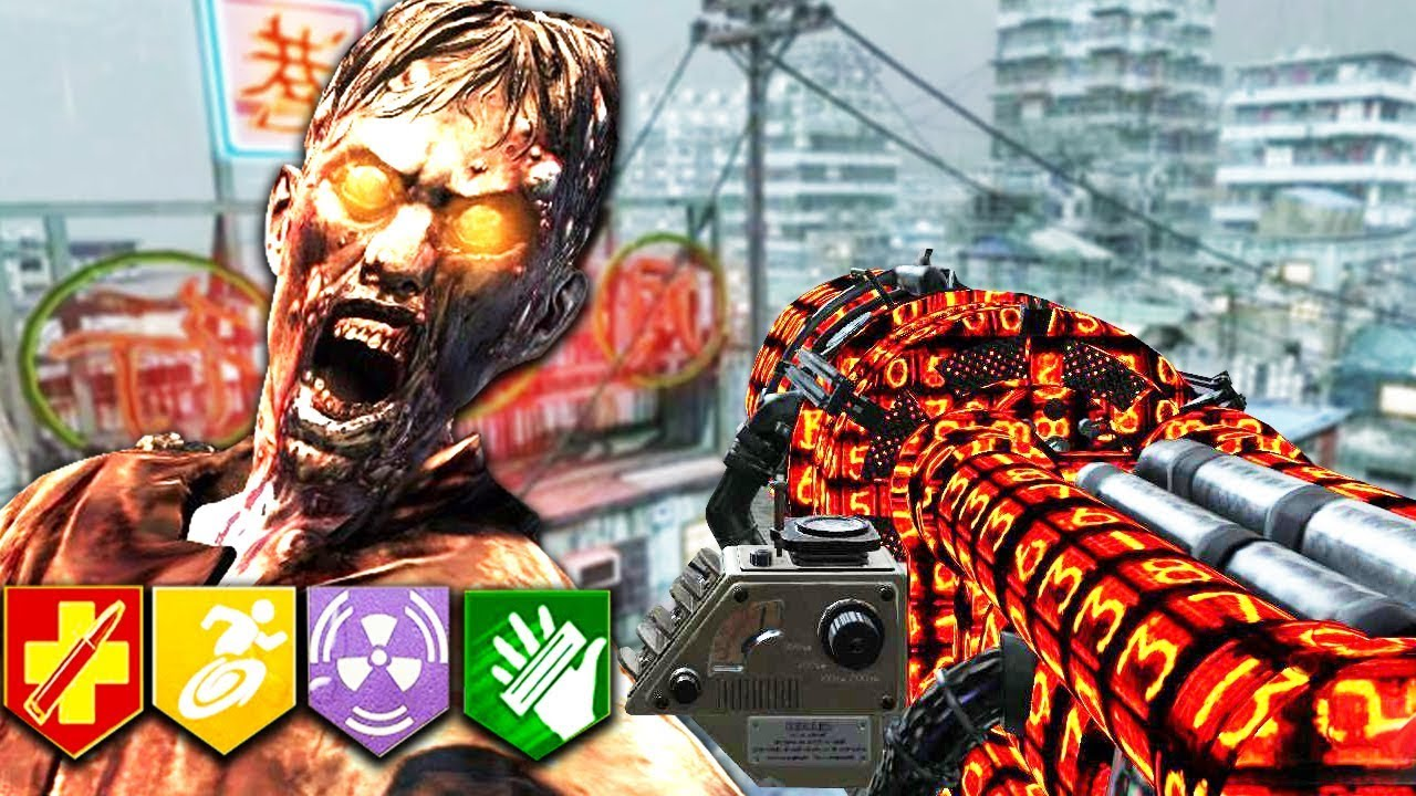 NEW BLACK OPS 1 ZOMBIES MAP!! (With EASTER EGG!) - KOWLOON