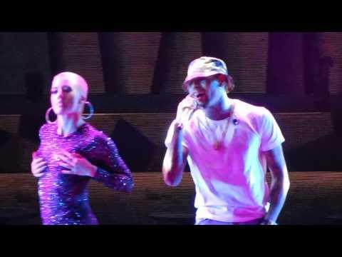 Liqour - Chris Brown Live ABQ