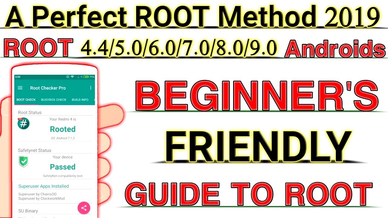 A Perfect ROOT Method 2019 | Beginner's Friendly Guide To