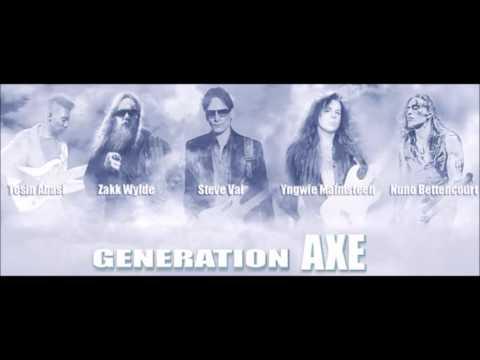 Generation Axe Tour! feat. Vai, Zakk Wylde, Tosin Abasi, Malmsteen, Nuno..!