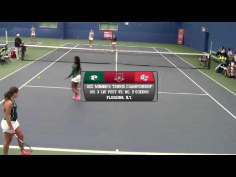 ECC Women's Tennis Championship Semifinal - LIU Post vs. Queens