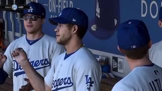 MLB The Show 18 SF Giants vs LA Dodgers Opening Day PS4 Pro Gameplay (Faster Video Setting)