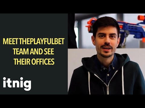 Meet Playfulbet and see their offices in Barcelona