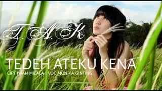 Download Lagu TEDEH ATEKU KENA (TAK) - MONIKA BR GINTING - official music mp3