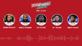 SPEAK FOR YOURSELF Audio Podcast (4.18.19) with Marcellus Wiley, Jason Whitlock | SPEAK FOR YOURSELF