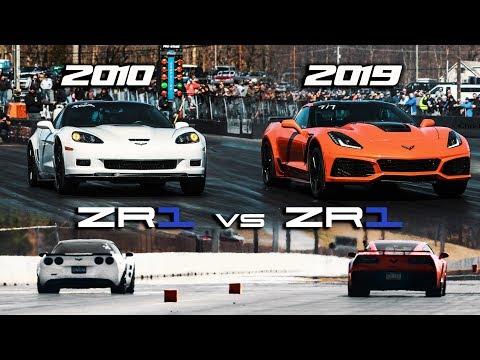 First 2019 ZR1 1/4 mile vs 2010 ZR1 | RPM S4 E42