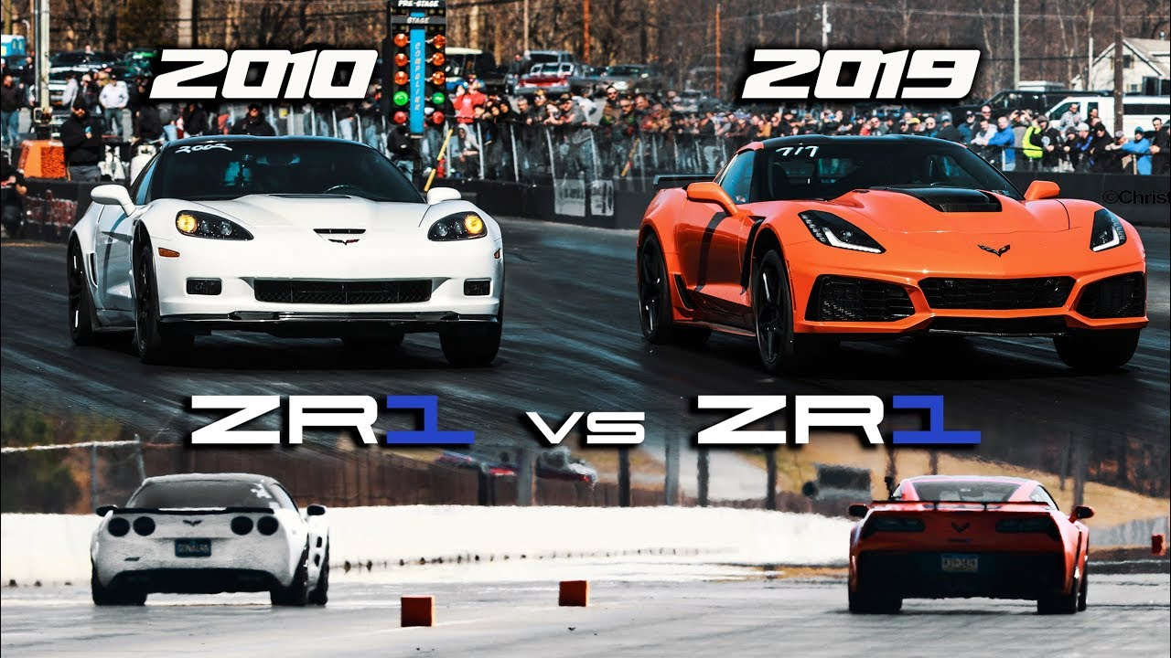 First 2019 ZR1 1/4 mile vs 2010 ZR1 | RPM S4 E42 - YouTube