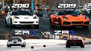 First 2019 ZR1 1/4 mile vs 2010 ZR1 | RPM S4 E42