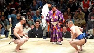 ロボコップ再び!元 高見盛(Takamisakari) vs 元 琴欧洲(Kotooshu)のOB戦(2018年2月11日 第42回大相撲トーナメント)