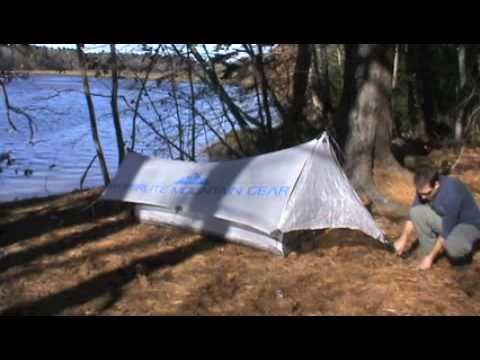 & HMG Hyperlite Mountain Gear Echo 1 Shelter System Setup - YouTube