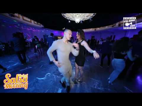 Glenn Donkers & Ilaria - social dancing @ RABAT SALSA MEETING 2016