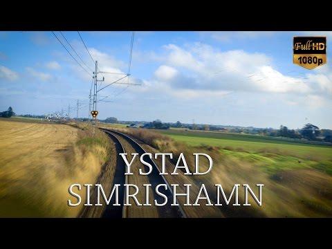Train Driver's View: Ystad-Simrishamn