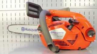 Профессиональная одноручная бензопила Husqvarna T435(, 2014-10-21T13:48:08.000Z)