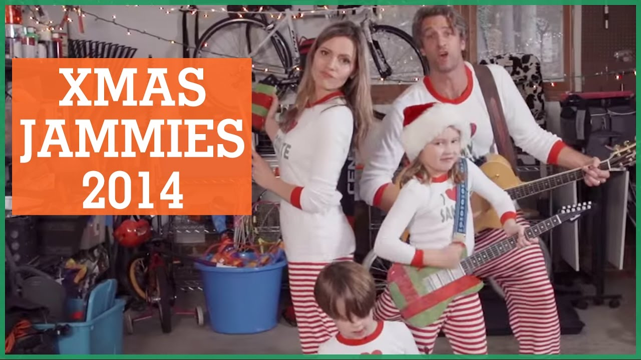 jammietime holderness family 2014 christmas video the holderness family