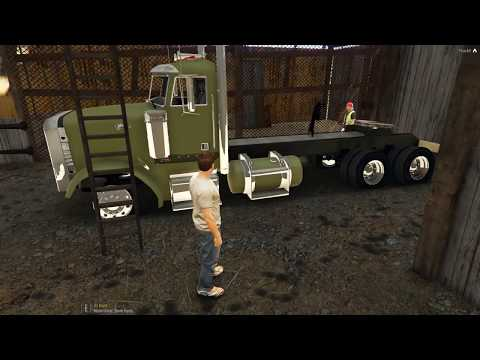 Law Breakers Rp.Risky buys him a old 18 Wheeler to restore &