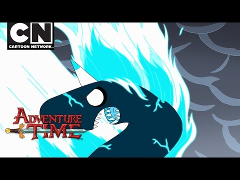 Adventure Time | Flamacorn Battle | Cartoon Network