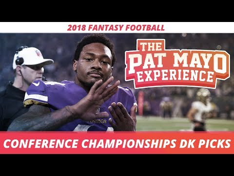 2018 Fantasy Football - NFL Conference Championship DraftKings Picks, Preview and Sleepers