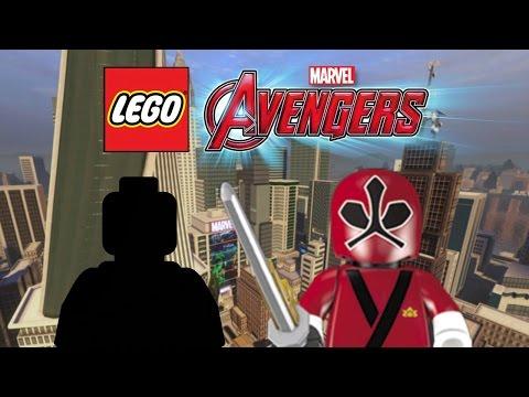 creating-silver-surfer-and-power-ranger!-|-lego-marvel's-avengers-customs