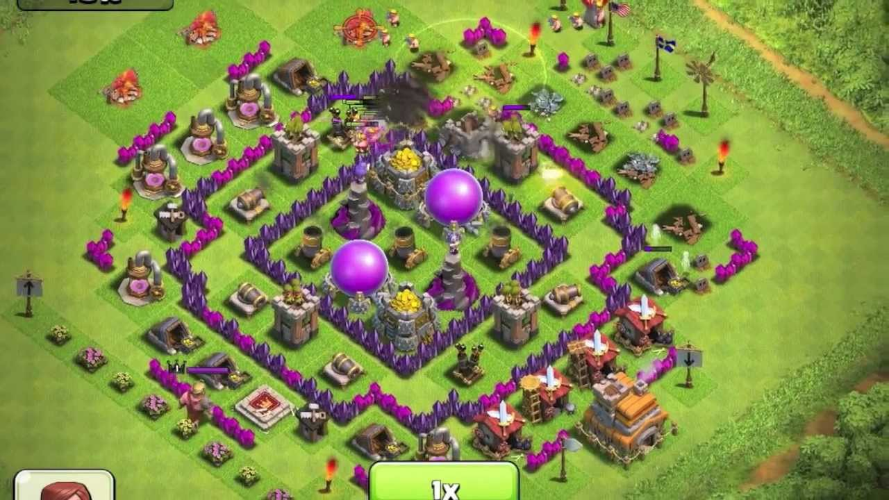 Clash of Clans - Air Defense - YouTube