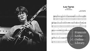 Alone Together - Larry Coryell (Transcription)