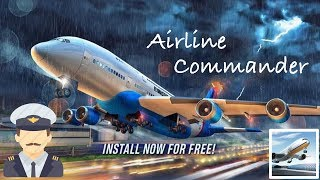 Airline Commander - App Check - Android / iPhone / iPad iOS Game - RORTOS SRL